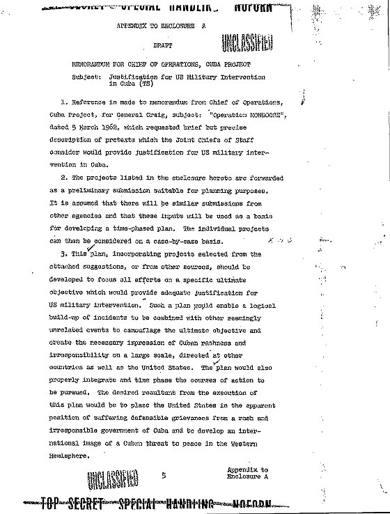 Operation Northwoods File